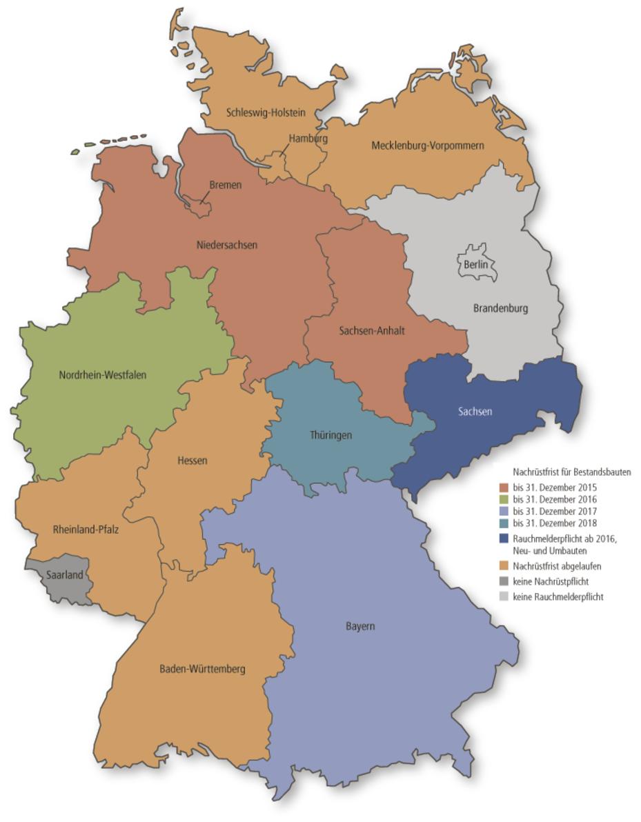 Sachsen Plant Rauchmelderpflicht