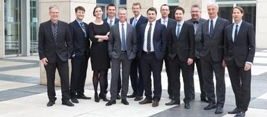 Die Geschäftsführung von DU Diederichs Projektmanagement bestehend aus Vorstand, Prokuristen und Handlungsbevollmächtigten.