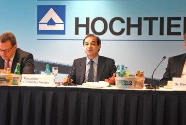 Hochtief-Chef Marcelino Fernández Verdes ist mit einer Gesamtvergütung von rund 3,8 Mio. Euro der Spitzenverdiener unter den Immo-Vorständen im MDax.