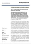Neue IZ-Wohnmarktanalyse