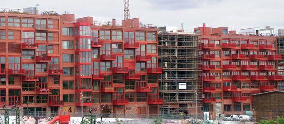 Neubau muss billiger werden, damit mehr gebaut wird, lautet die zentrale Forderung der IW-Studie.  Bild: mv