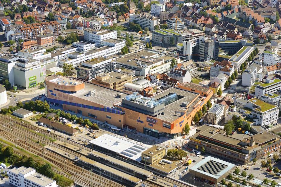 Stuttgart hansemerkur kauft einkaufszentrum mercaden for Einkaufszentrum stuttgart