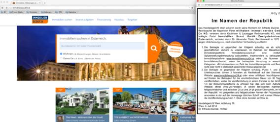 Bild: www.immobilienscout24.at/Screenshot: IZ