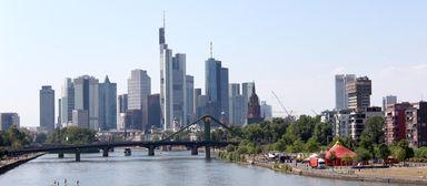 Frankfurt und das Rhein-Main-Gebiet stehen auf der Wunschliste der möglichen Arbeitsorte bei den Immobilienstudenten ganz oben.