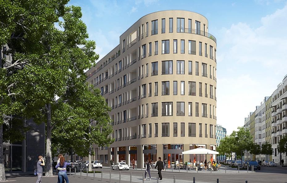 spatenstich f r 256 wohnungen in berlin mitte. Black Bedroom Furniture Sets. Home Design Ideas