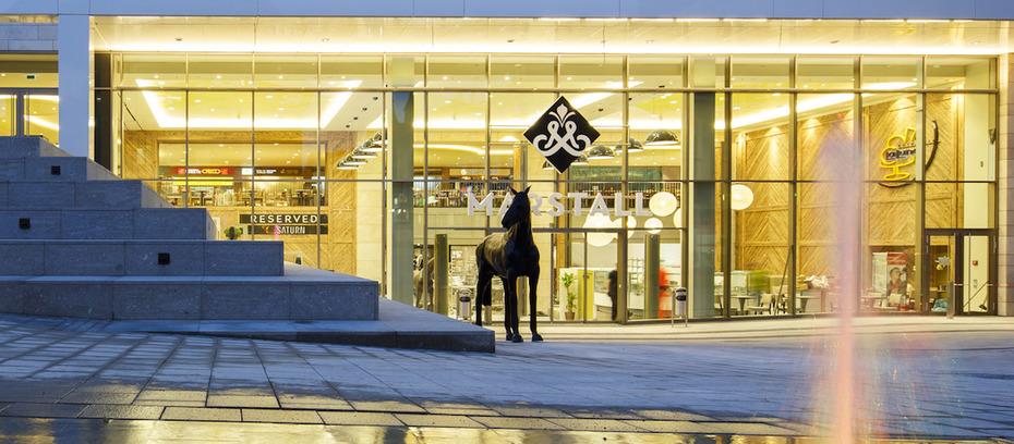 ludwigsburg ece er ffnet das neue einkaufszentrum marstall. Black Bedroom Furniture Sets. Home Design Ideas