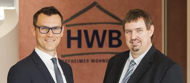 Norman Diehl (links) und Josef Mayr führen gemeinsam die Hofheimer Wohnungsbau.