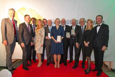 Die diesjährige Preisverleihung des ULI Leadership Award fand in München statt.