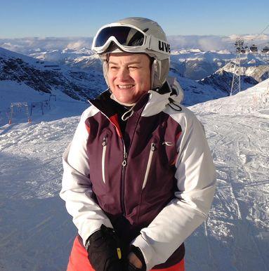 Susanne Klaußner, hier am Kitzsteinhorn in Österreich, ist Mitglied im Skiclub Nürnberg.
