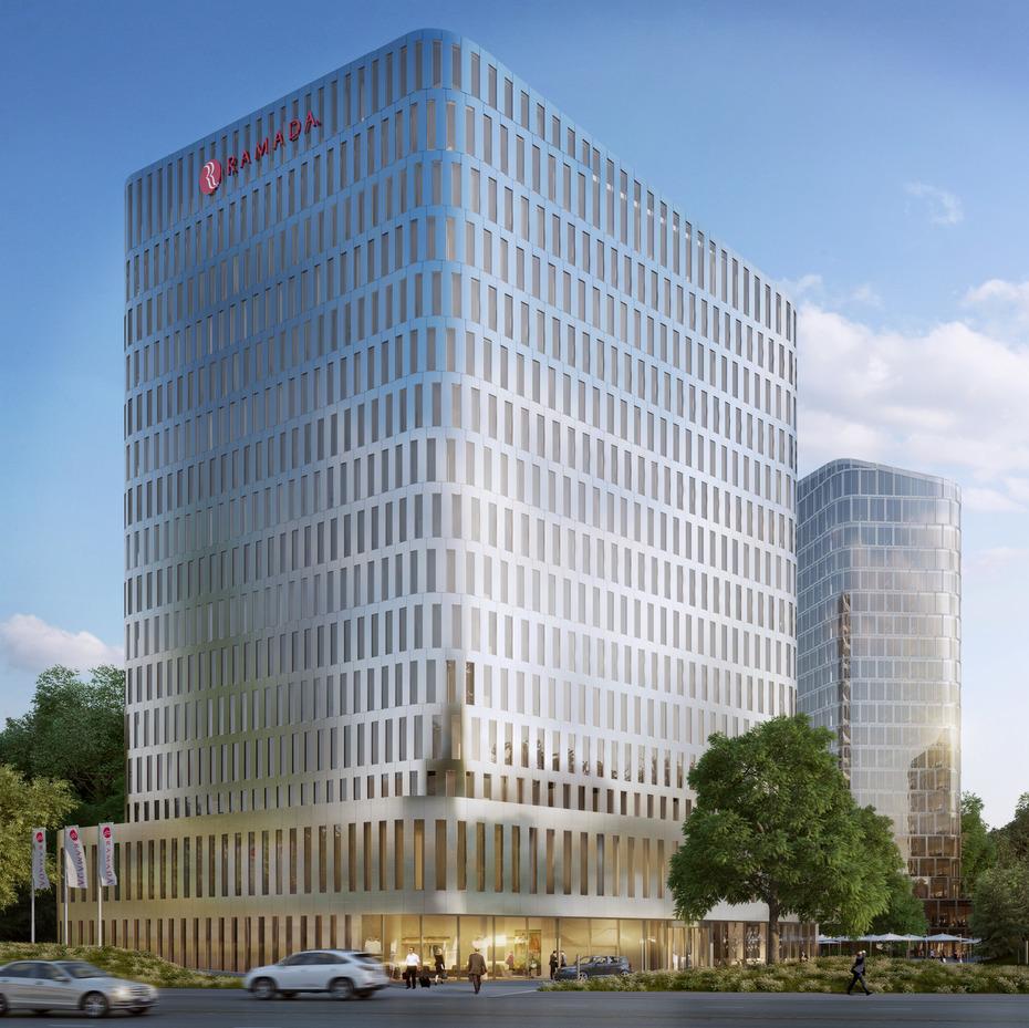 M nchen swiss life kauft hotelturm der bavaria towers for Romido einrichten