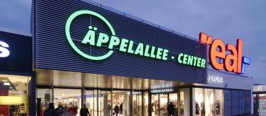 Das Äppelallee-Center in Wiesbaden.
