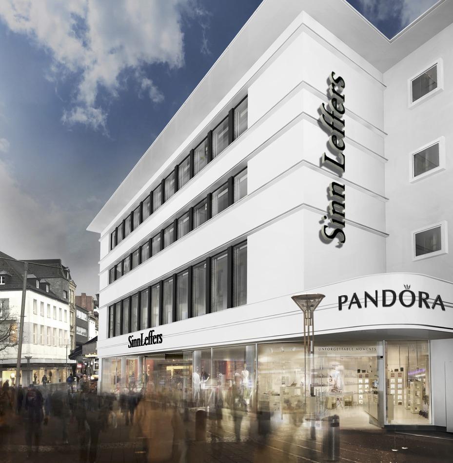 Krefeld: Centrum startet Umbau des SinnLeffers-Hauses