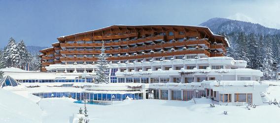 Im Dorint Alpin Resort Seefeld/Tirol endet bald der Hotelbetrieb. Die Immobilie soll zwangsverwertet werden. Bild: FMTG