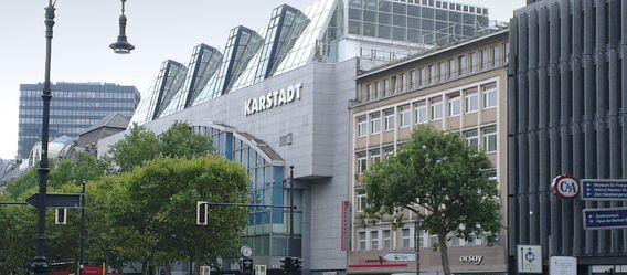 Das Projektgrundstück in Berlin: Karstadt am Kurfürstendamm. Bild: Lea