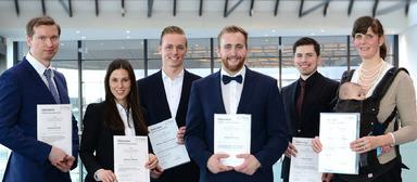 Das sind die Preisträger des Gefma-Förderpreises 2016.