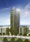 Hängende Gärten für Frankfurter Wohnturm