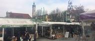 Rarität: Stand am Münchner Viktualienmarkt zu haben