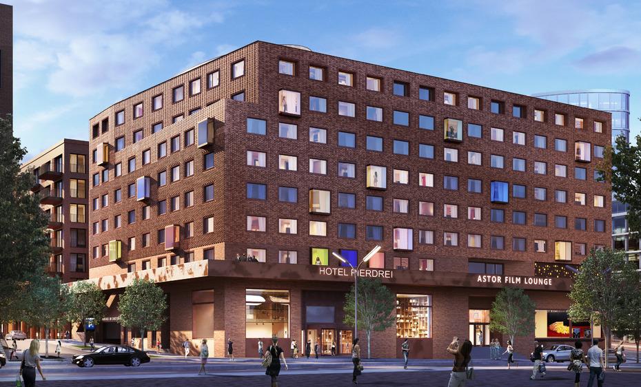 Patrizia Kauft Hotel Kino Komplex In Der Hamburger Hafencity