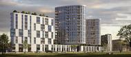 Frankfurt: Hadi Teherani beplant Teil des Honsell-Dreiecks