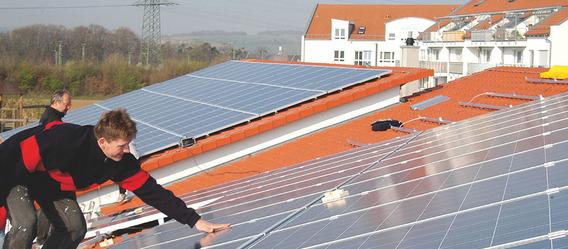 Bild: aleo Solar