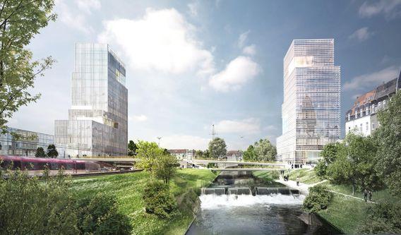 Bild: Mola + Winkelmüller Architekten / Machleidt Städtebau I Stadtplanung / sinai Gesellschaft von Landschaftsarchitekten