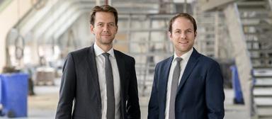 Markus Diegelmann (links) und Stefan Schillinger.