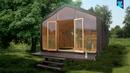 Wikkelhouse: Ein Haus aus Pappe