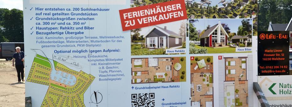 Musterhaus He Dorf zu rehkitz und biber in die brandenburgische diaspora