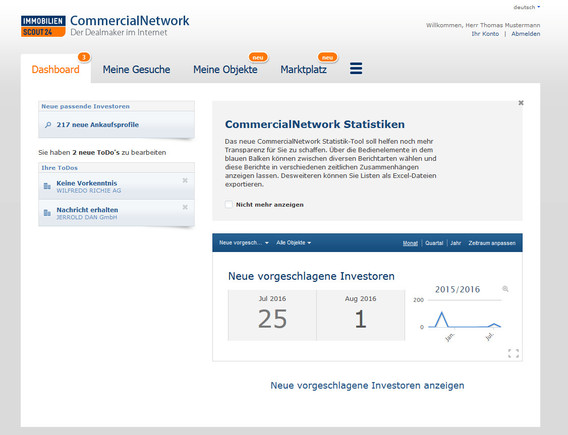 Bild: Screenshot Commercial Network