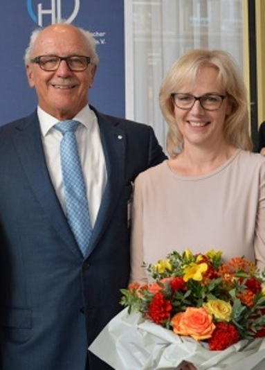 Wolfgang Heckeler und Astrid Schultheis.
