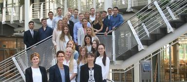 Der Startschuss für die neuen Azubis von Vonovia ist gefallen, u.a. am Unternehmenssitz in Bochum.