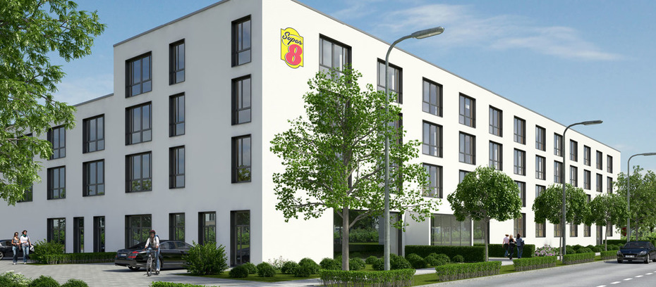 union investment kauft super 8 hotel in m nchen. Black Bedroom Furniture Sets. Home Design Ideas