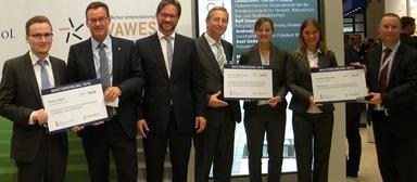 Stefan Rode, Axel Gedaschko, Florian Pronold, Andreas Ibel, Verena Darmovzal, Sandra Altmann, Ralf Giesen (v.l.n.r.)