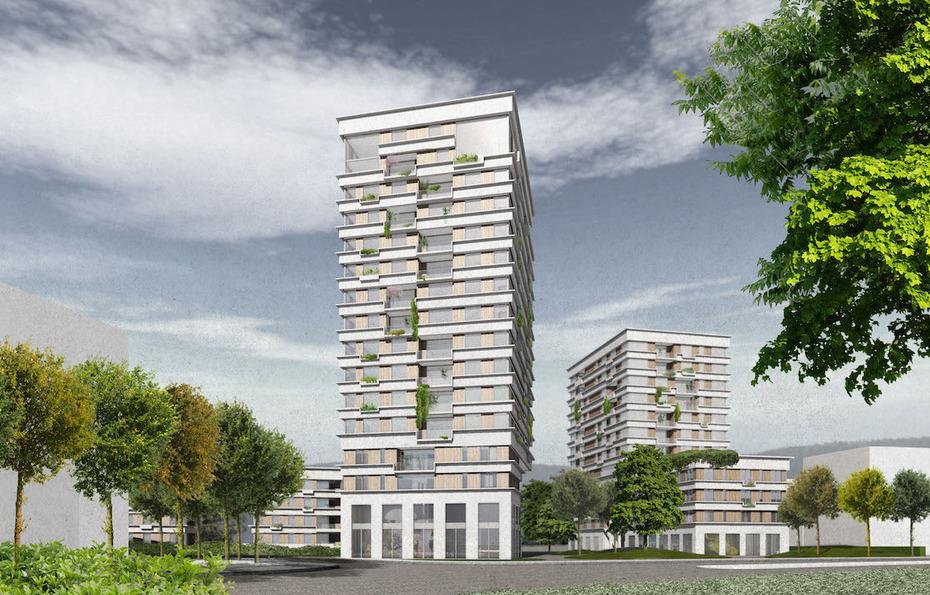 Architektur Erfurt hochhauswettbewerb in erfurt