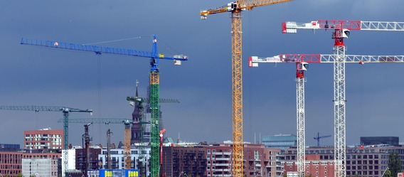Hansestadt steht vor Rekord bei Baugenehmigungen