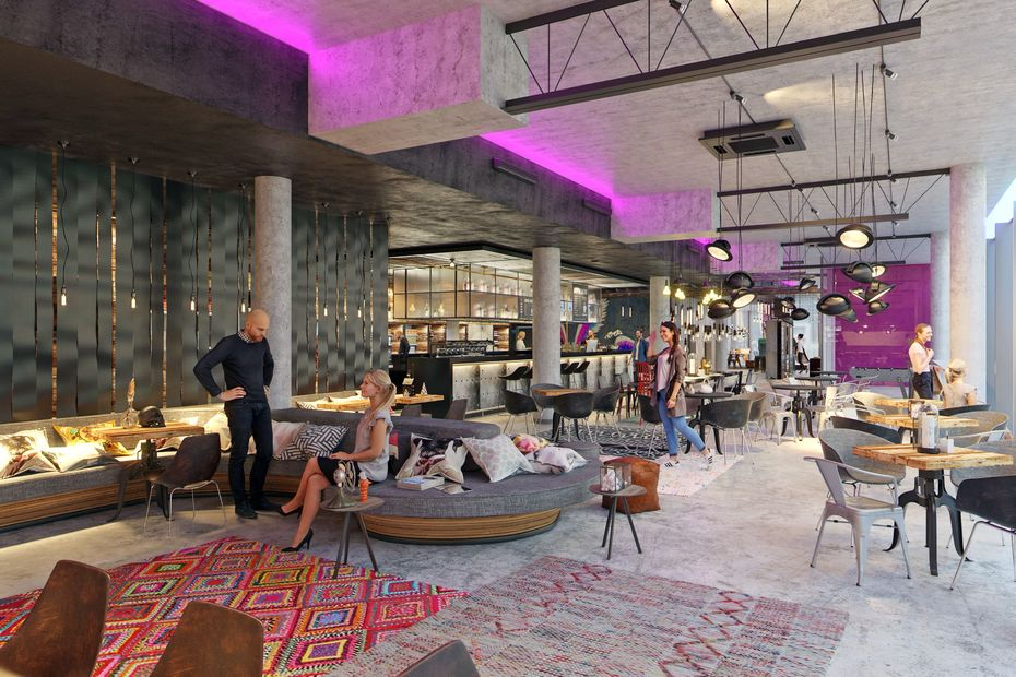 richtfest und name f r moxy hotel. Black Bedroom Furniture Sets. Home Design Ideas