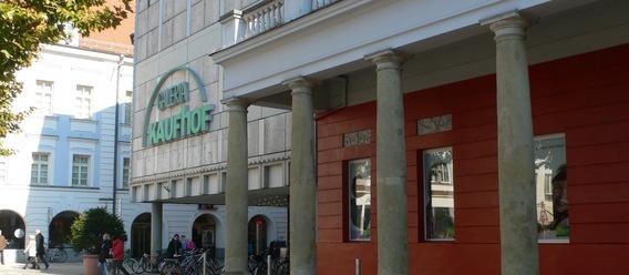 Kaufhof in Regensburg. cvs
