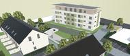 Deutsche Reihenhaus geht in den Geschosswohnungsbau