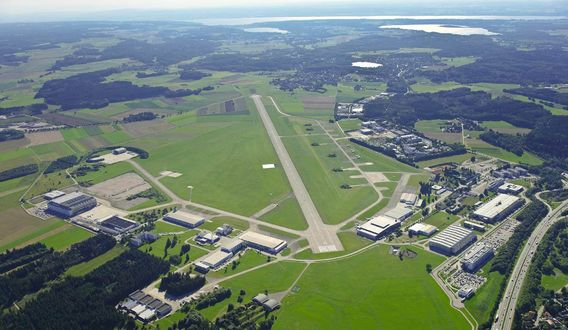Flughafen Oberpfaffenhofen bietet großes Flächenreservoir