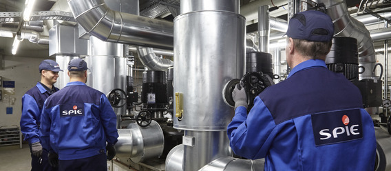 Spie übernimmt den Langener Energiedienstleister SAG. Bild: Spie