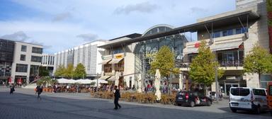 Volme-Galerie Hagen: eines von vier Einkaufszentren, die Multi in Deutschland managt.