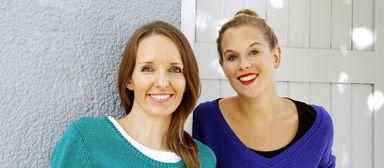 Anna Kaiser (links) und Jana Tepe bilden als Geschäftsführerinnen selbst ein Tandem.