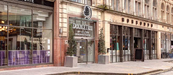 Quelle: DoubleTree by Hilton Edinburgh City Centre - Managed by Redefine BDL Hotels