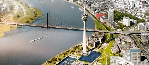 Quelle: ingenhoven architects, Markierungen: Immobilien Zeitung