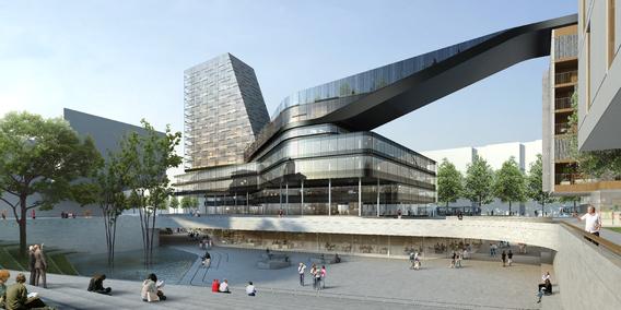 Urheber: Delugan Meissl Associated Architect mit Helmut Wimmer und Partner