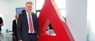 Apleona-Chef Jochen Keysberg gibt sich ganz entspannt.
