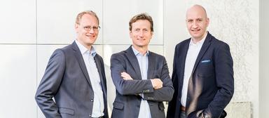 Dirk Rehaag, Gerhard List und Markus Figenser (v.l.)
