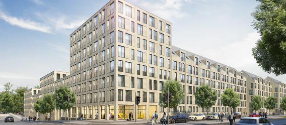 Quelle: Projektgesellschaft 2 Offenbachstraße, Urheber: Steidle Architekten