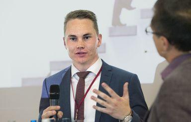 Lukas Schuster ist Investment-Analyst bei Catella Property in München.