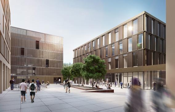 Quelle: Wolff & Müller, Urheber: BFK Architekten